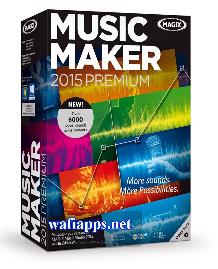 MAGIX Music Maker 2015 wafiapps (4)