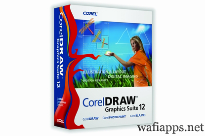 wafiapps.net Corel Draw  12