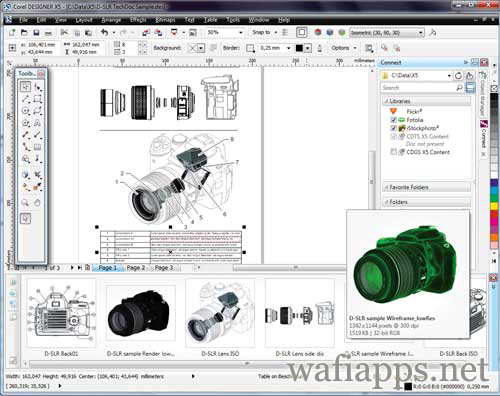 wafiapps.net  CorelDRAW Graphics Suite X5 2010