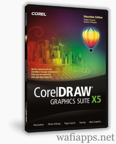 wafiapps.net - CorelDRAW Graphics Suite X5 2010