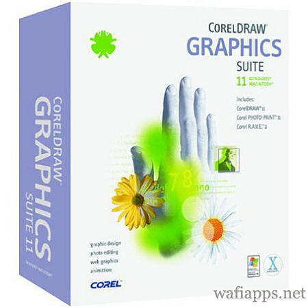 wafiapps.net CorelDraw 11 for Mac