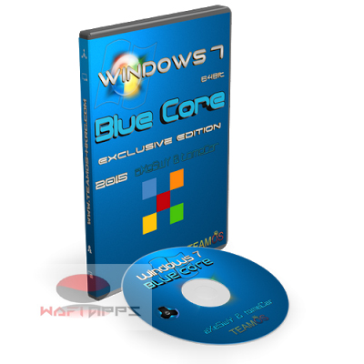 wafiapps.net- Windows 7 Blue Core Free
